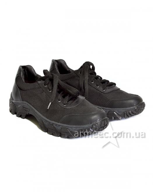 Кроссовки черные Полиция Energy A2