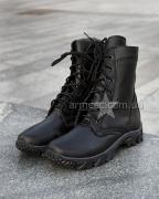Зимние берцы кожа Black Extreme-2