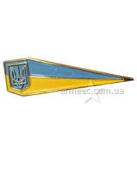 Кокарда на берет с гербом Украины