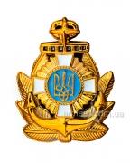 Кокарда на берет Военно-морских сил Украины