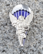 """Нагрудный знак парашютиста """"Ангел"""" Silver"""