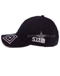 Бейсболка 5,11 Tactical Black