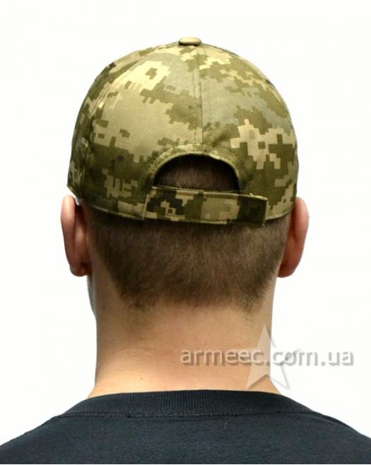 Камуфляжная бейсболка военная светлый пиксель