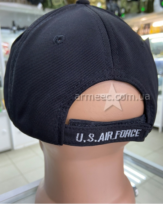 Бейсболка черная U.S. Air Force