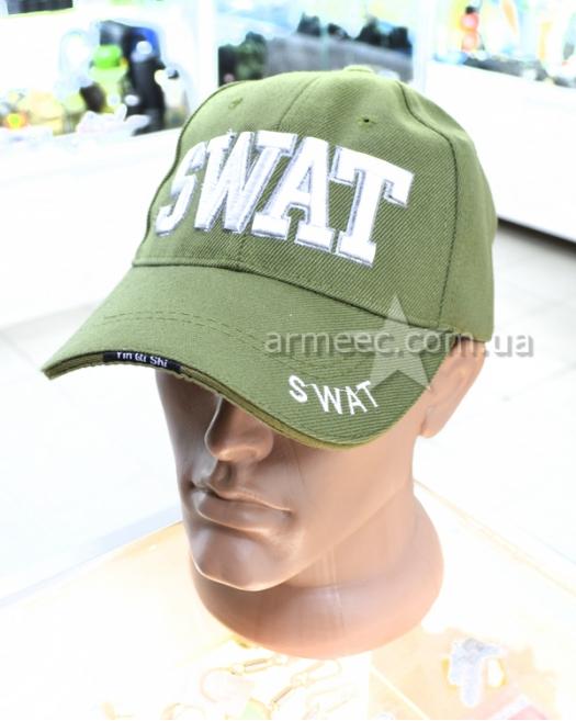 Бейсболка SWAT олива
