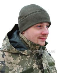 Шапка флис Олива-2