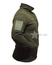 Флисовая тактическая кофта / куртка НГУ Olive A2