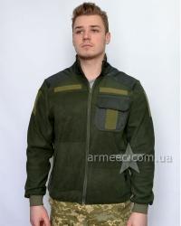 Флисовая тактическая кофта / куртка НГУ Olive A1