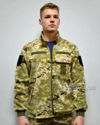 Тактическая флисовая кофта / куртка ЗСУ пиксель A1
