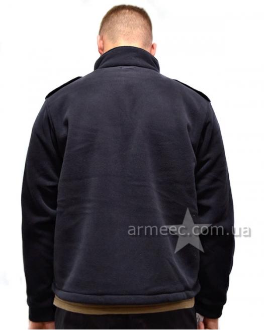 Флисовая тактическая кофта полиции Dark Blue A2