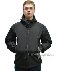 Куртка софтшелл (softshell) черная