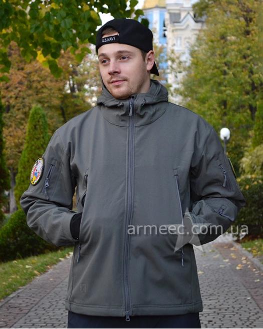 Куртка софтшелл (Soft Shell) Gray