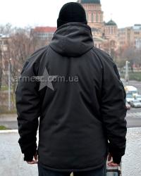 Куртка софтшелл (softshell) Winter Black