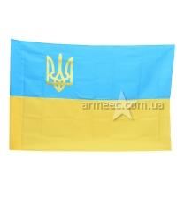 Флаг Украины с тризубом А1