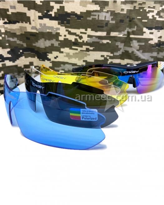 Очки тактические Oakley черные
