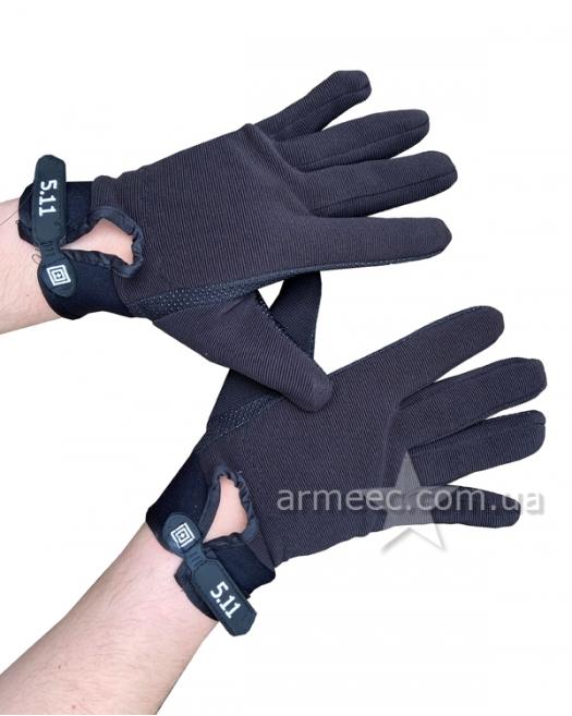 Перчатки 5.11 Tactical Series черные В1