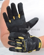 Перчатки Mechanix Black+Yellow