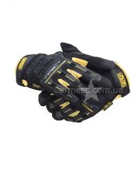 Перчатки Mechanix Black+Yellow