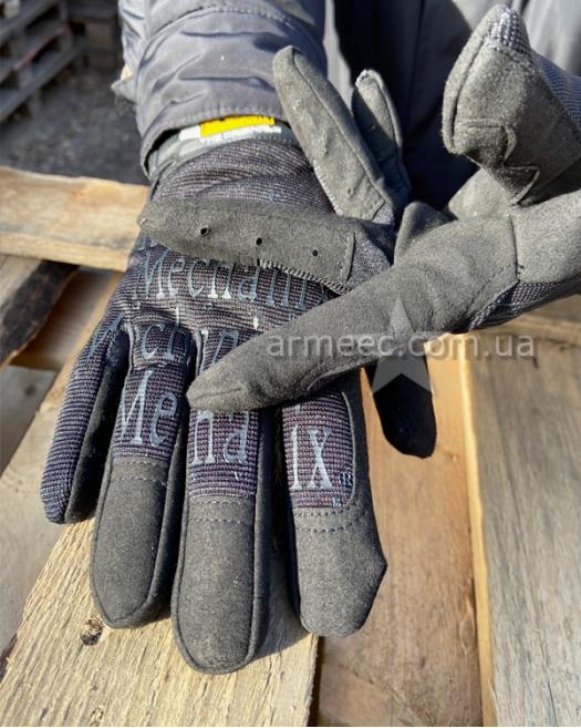 Перчатки Mechanix олива-1