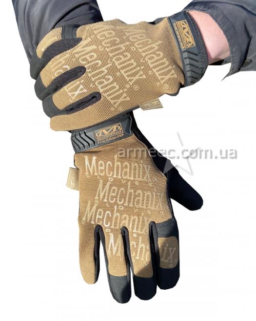 Перчатки Mechanix койот-1
