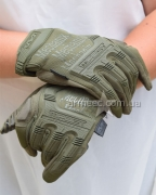Перчатки Mechanix M-PACT Olive-1