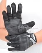 Перчатки Mechanix с косточками Black-1