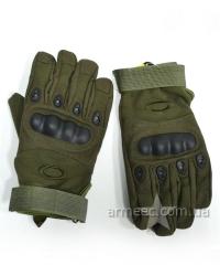 Перчатки тактические Oakley Olive C2