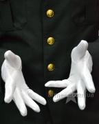 Перчатки белые парадные №2
