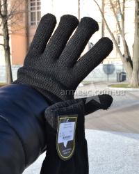 Перчатки вязаные уплотненные B1