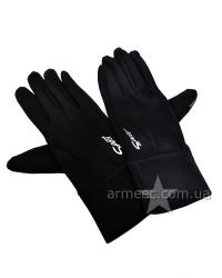 Перчатки утеплённые флисовые Black P2