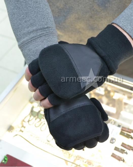 Рыбацкие перчатки Black