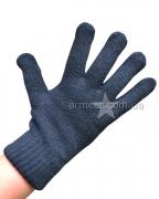 Перчатки вязаные Двойные А1
