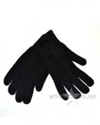 Перчатки утеплённые вязаные на байке Black S1