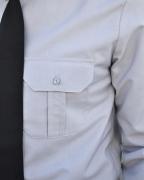 Рубашка полиции с длинным рукавом