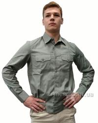 Форменная рубашка полынь