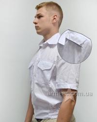 Рубашка с коротким рукавом белая А2