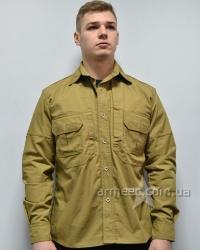 Рубашка тактическая Police Coyote рип-стоп