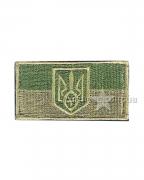 Шеврон флаг Украины Olive-1