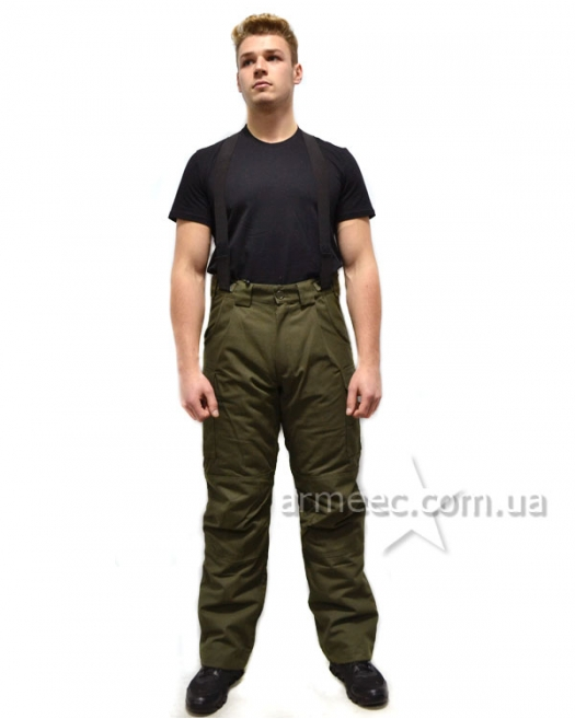 Теплые штаны олива НГУ