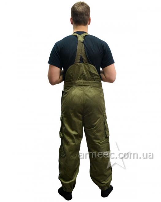 Теплые брюки олива Австрия