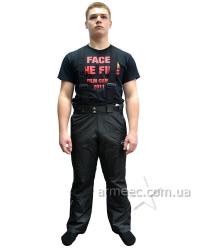 Теплые брюки черные Patriot
