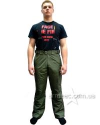 Теплые брюки олива Patriot