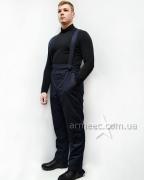 Теплые штаны полицейские A11