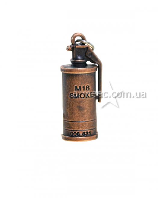 Брелок-флешка M18 Smoke