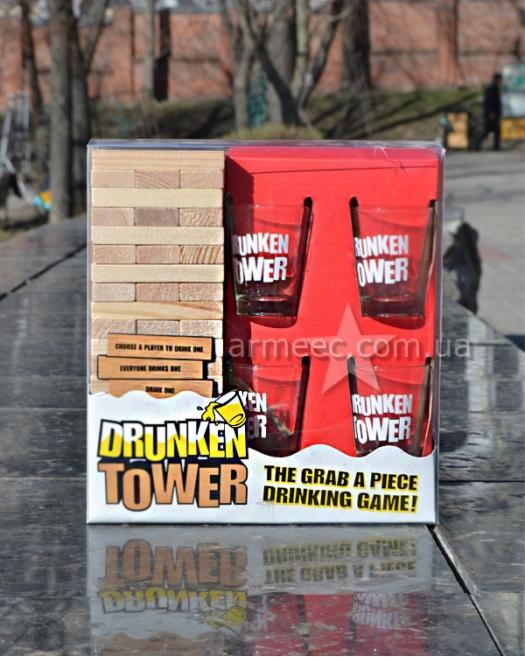 Настольная игра Drunker Tower Jenga
