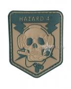 "Шеврон ""Hazard 4"" Coyote"