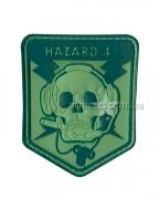 "Шеврон ""Hazard 4"" Green"