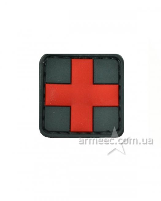 Шеврон красный крест А1