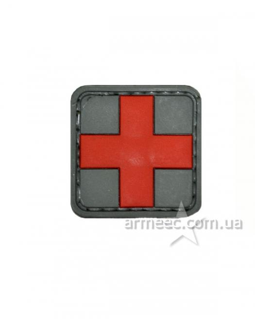 Шеврон красный крест А2