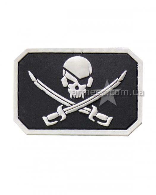 Шеврон пират A4